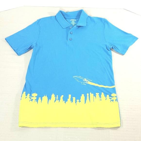 29fde95093371 Futurama Shirts | Loot Crate Exclusive Planet Express Polo | Poshmark